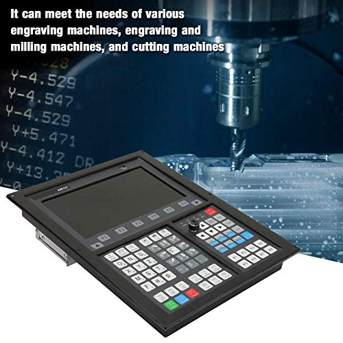 Vikye Cutting Machine CNC, M630/M650 1024600 10.2in Display CNC Offline Controller Engraving Machine Motion Control System Support Multi-Process (4 Axis)