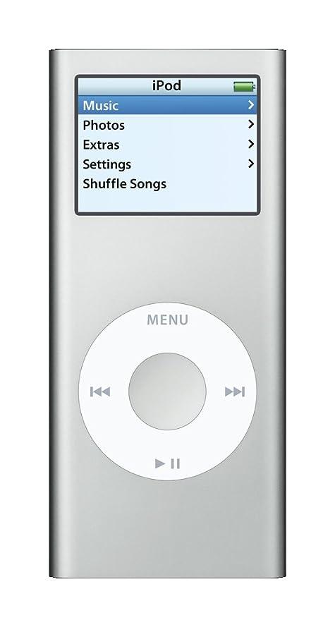 amazon com apple ipod nano 4 gb silver 2nd generation rh amazon com iPod Nano Setup iPod Nano Problems