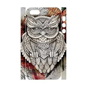 Iphone 5,5S Goo goo owl 3D Art Print Design Phone Back Case Hard Shell Protection HGF037319