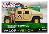 G.I. Joe Valor vs. Venom Desert Humvee with Duke Action Figure