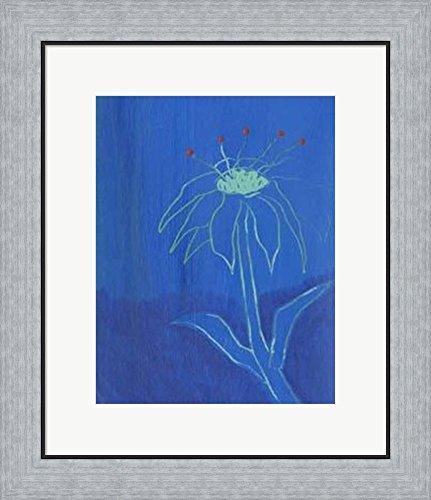 Knowing II by Jeffrey Milstein Framed Art Print Wall Picture, Flat Silver Frame, 19 x 22 (Milstein Print)