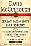 img - for David McCullough Great Moments in History E-book Box Set: 1776, The Johnstown Flood, Path Between the Seas, The Great Bridge, The Course of Human Events book / textbook / text book