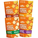 Low Carb, Gluten Free, and Keto, Healthy Cheese Crisp – Savory, High Protein & Diet Friendly Cheese Crunch with Natural Ingredients, Variety Pack of 4, 2.25oz Bags