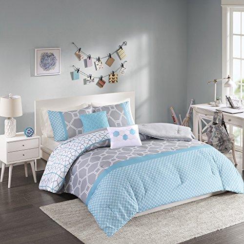intelligent design clara all seasons comforter set 4 piece