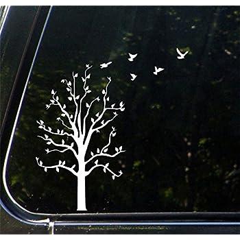 Amazoncom Birds Of A Feather Vinyl Decal Laptop Car Truck Bumper - Bird window stickers amazon