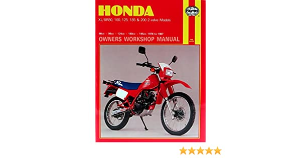 honda xr200r full service repair manual 1986 2002