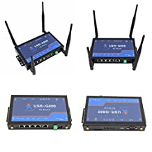 USRIOT USR-G800 4G Router Industrial 4G Wireless LTE Router RS232 to 4G Network Transparent Transmission with SIM Card Slot
