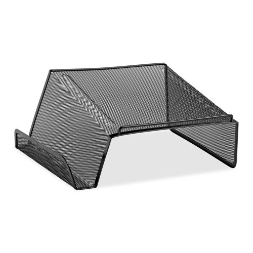 Wholesale CASE of 15 - Rolodex Mesh Phone Planner Stands-Phone Mesh Stand, Steel, 10-1/8''x10-5/8''x4-7/8'', Black