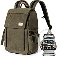 Camera Backpack Zecti Waterproof Canvas Professional...