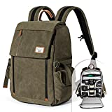 Camera Backpack Zecti Waterproof Canvas Professional Camera Bag for Laptop and Other Digital