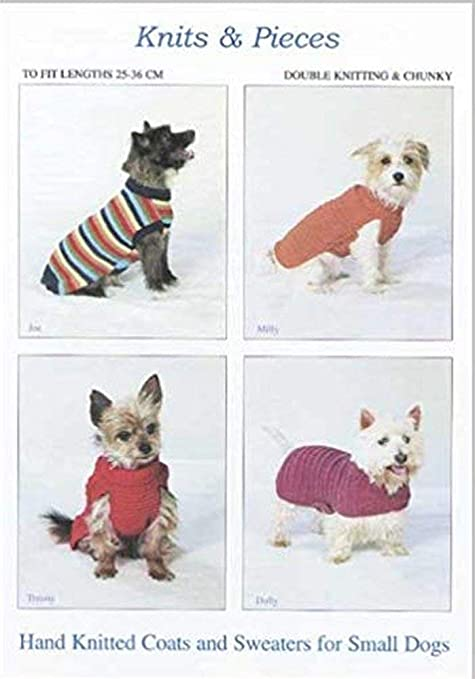 Knits Pieces Knitting Pattern Small Dog Coats And Sweaters