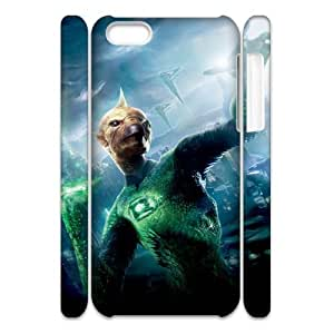 GreenLantern FG7024544 3D Art Print Design Phone Back Case Customized Hard Shell Protection Iphone 5C