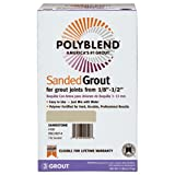 CUSTOM BLDG PRODUCTS PBG457-4 7 lb Wheat Sanded Polyblend Grout