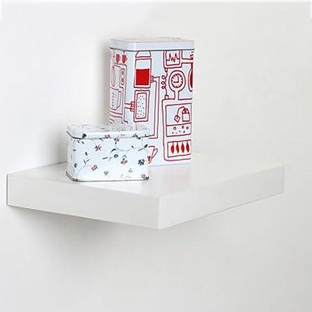 Blanc Nouveau MDF étagère murale étagères affichage Stockage Décoration étagère érable
