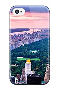 For Iphone Case, High Quality One Day A Little Cloudy For City For Iphone 4/4s Cover Cases