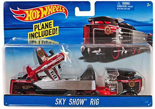 HOTWHEELS CITY SKY SHOW RIG (Hot Rigs)
