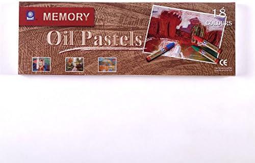 BK BILDERRAHMEN KOLMER ÖL PASTELLKREIDE | Ø 1 cm, 7,4 cm, 18 Farben Set | Pastellfarben