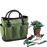 Graden Tool Bag Shoulder Strap Has Pockets Tool Storage Organiser, Can Fit Long Screwdrivers Klein Tools Waterproof Oxford Fabric Multi Pocket Bag for Tools Toolkits (34.317.230.5 CM, Army Green)