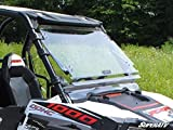 2008-2014 RZR Scratch Resistant Front Flip Up Windshield by SuperATV FWS-P-RZR-002
