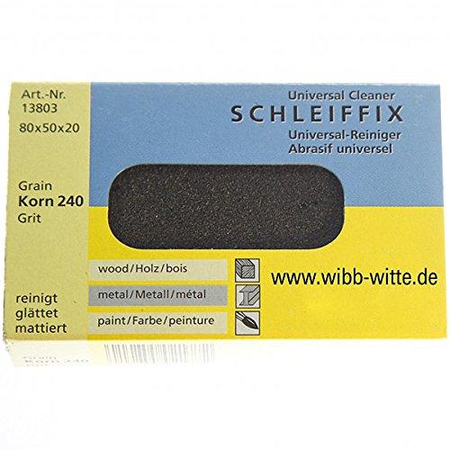 HaWe 1380.3 Schleiffix-Handklotz fein in gelb