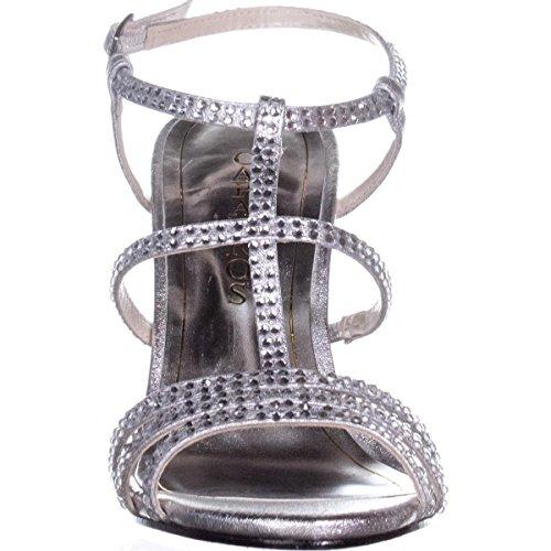 Metallic Synthetic Silver Women Gold Caparros Toe Groovy Open Sandals HC8q87