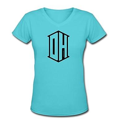 8f351d8f3ee10 Amazon.com: ATHLETE ORIGINALS Women's V-Neck T-Shirt by DeAndre ...