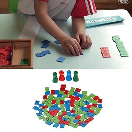 Games Stamp - Cicitop Montessori Wooden Stamps Montessori Math Materials Educational Game Toy