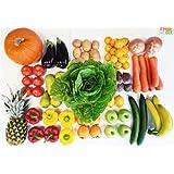 Fruitletbox Classic Jumbo 18 Kilo frisches Obst und Gemüse, Kiste mit Bananen, Äpfeln, Ananas und viel mehr, gekühlt.