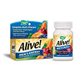 Cheap Nature's Way Alive!® Men's Energy Multivitamin Tablets, Fruit and Veggie Blend (100mg per serving), 50 Tablets