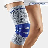 Bauerfeind - GenuTrain - Knee Support Brace - Targeted Support for Pain Relief and Stabilization of The Knee - Size 5 - Color Titanium