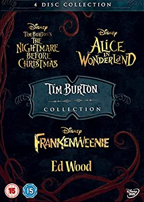 Tim Burton 4 Pack DVD: Amazon.es: Cine y Series TV