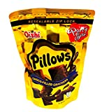 Oishi Pillows Choco-Filled Crackers Party Size, 5.29 oz, 3 packs