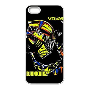 Exquisite stylish phone protection shell iPhone 5,5S Cell phone case for Valentino Rossi pattern personality design