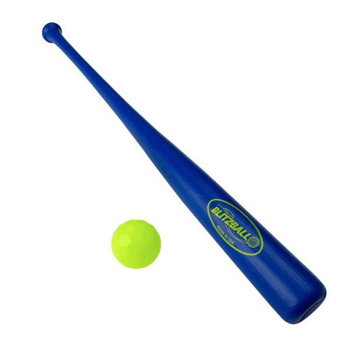 gamemaster blitzball backyard baseball bat and ball blue amazon