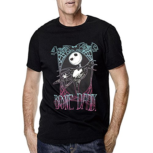 Nightmare Before Christmas Bone Daddy for Men T Shirt (Small, Black)]()