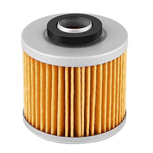 Cuque Motorcycle Oil Filter - Motorbike Replacement Filter for Yamaha XV750 Virago 747 750 1981 1982 1983 1988 1988 1989 1990 1991 1992 1993 1994 1995 1996 1997 1998 1999 54 x 54 mm / 2.12 x 2.12 in (1982 Yamaha Virago 750 Parts)