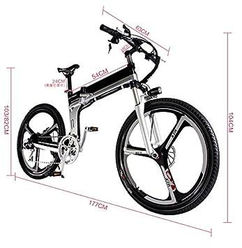 Yoli® Nueva bicicleta 48 V batería de litio eléctrico para bicicleta de nieve SHIMAN0 para