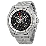 Breitling Men's BTAB043112-BC69SS Bentley B04 GMT Analog Display Swiss Automatic Silver Watch