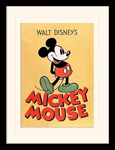 1art1® Mickey Mouse - Mickey Póster De Colección Enmarcado (40 x ...
