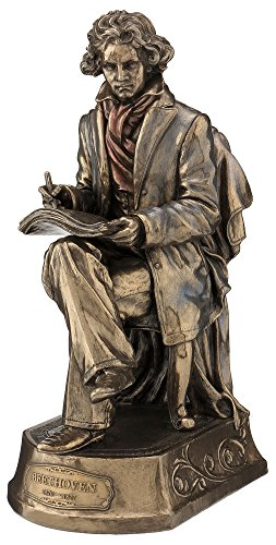 Classical Statue (Beethoven Statue, Bronze Powder Cast 9.75-in)