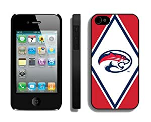 Custom Iphone 4/4s Case Cover Ncaa Houston Cougars 02 Sport Design Coolest Phone Protector Accessories