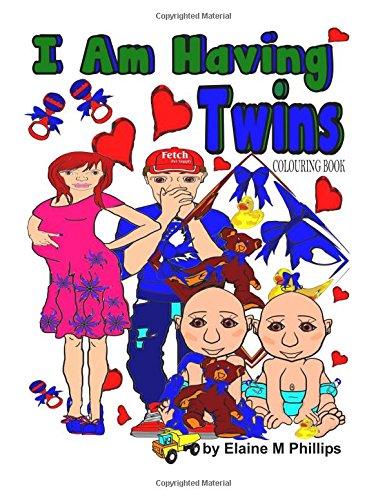I Am Having Twins Colouring Book PDF