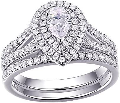 Newshe Wedding Engagement Bridal Sterling product image