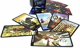 Brujas Tarot Tarjetas Cubierta Juego de Mesa Leer el Destino Mythic adivinación Juegos de Cartas: Amazon.es: Deportes y aire libre