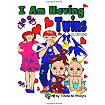 I Am Having Twins Colouring Book