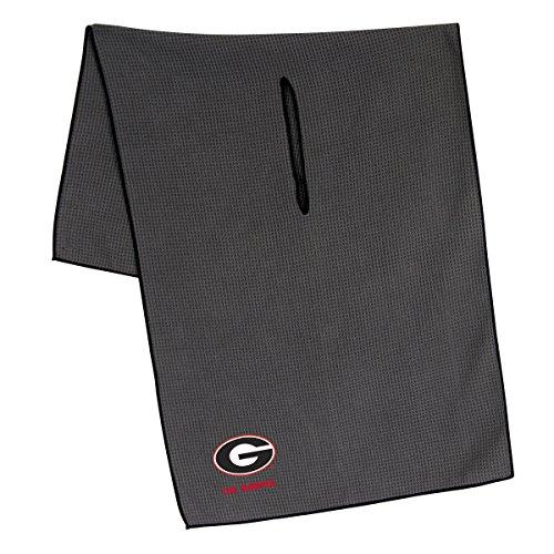 Georgia Golf Towel (Team Effort Georgia Bulldogs Grey Microfiber Towel)