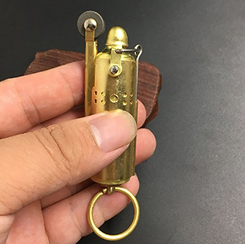 Youfeel Trench Lighter Replica - Solid Brass- WWI - WWII - Vintage Style 2 Pack