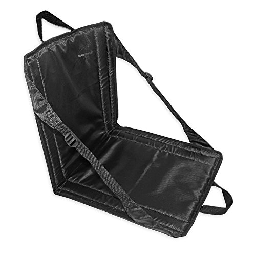 Alpine Mountain Gear Stadium Seat, Black