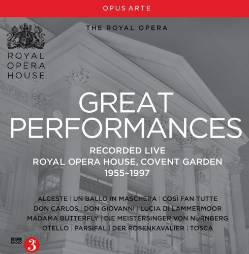 Great Performances: Royal Opera House, Covent Garden, 1955-1997