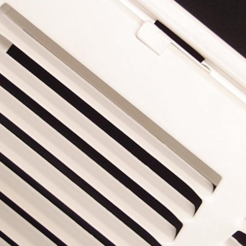 14'' X 20 Steel Return Air Filter Grille for 1'' Filter - Fixed Hinged - ceiling Recommended - HVAC DUCT COVER - Flat Stamped Face - White [Outer Dimensions: 16.5''w X 22.5''h] by HVAC Premium (Image #7)